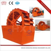 Henan high effect industry vibrating screen sand washing machine