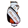 Top Quality Custom Made PU Leather Golf Staff Bag