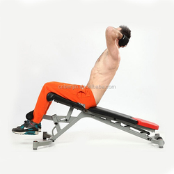 Dumbbell Bench Adjustable Flat/Incline/Decline Bench
