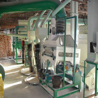 corn peeling and grits making machine/low price flour mill plant