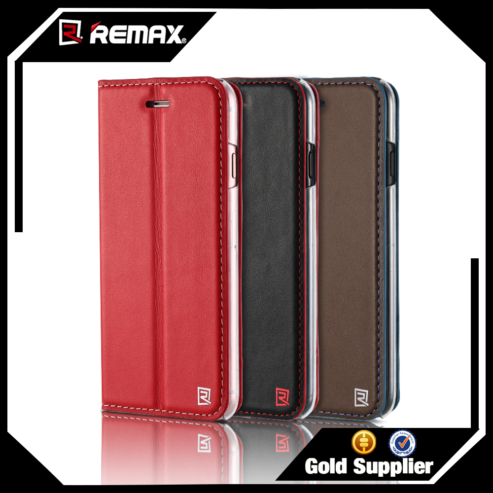 REMAX Genuine Leather Phone Accessories Case 2016