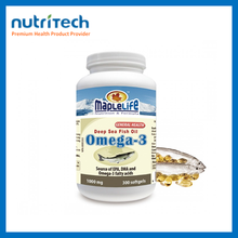 GMP Certified Companies Maplelife Fish Oil Super omega 3