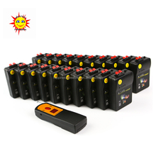 Digital remote 20 cues far distance 500m wireless remote control sequential salvo fireworks firing system