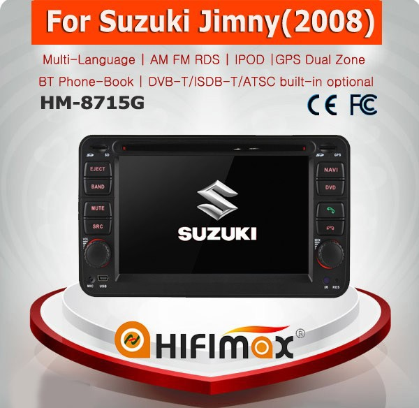 HIFIMAX WIN CE 6.0 Car DVD GPS For Suzuki Jimny 2008-2015 Car DVD Player GPS Navigation System