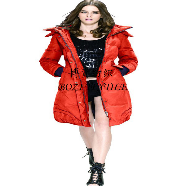 In the polyester taffeta material down jacket tank cloth cotton-padded jacket sportswear