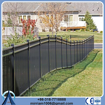 Wholesale China Factory metal frame fence for small manufacturing