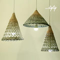 hot sale pendant lamp wicker lamp shades china