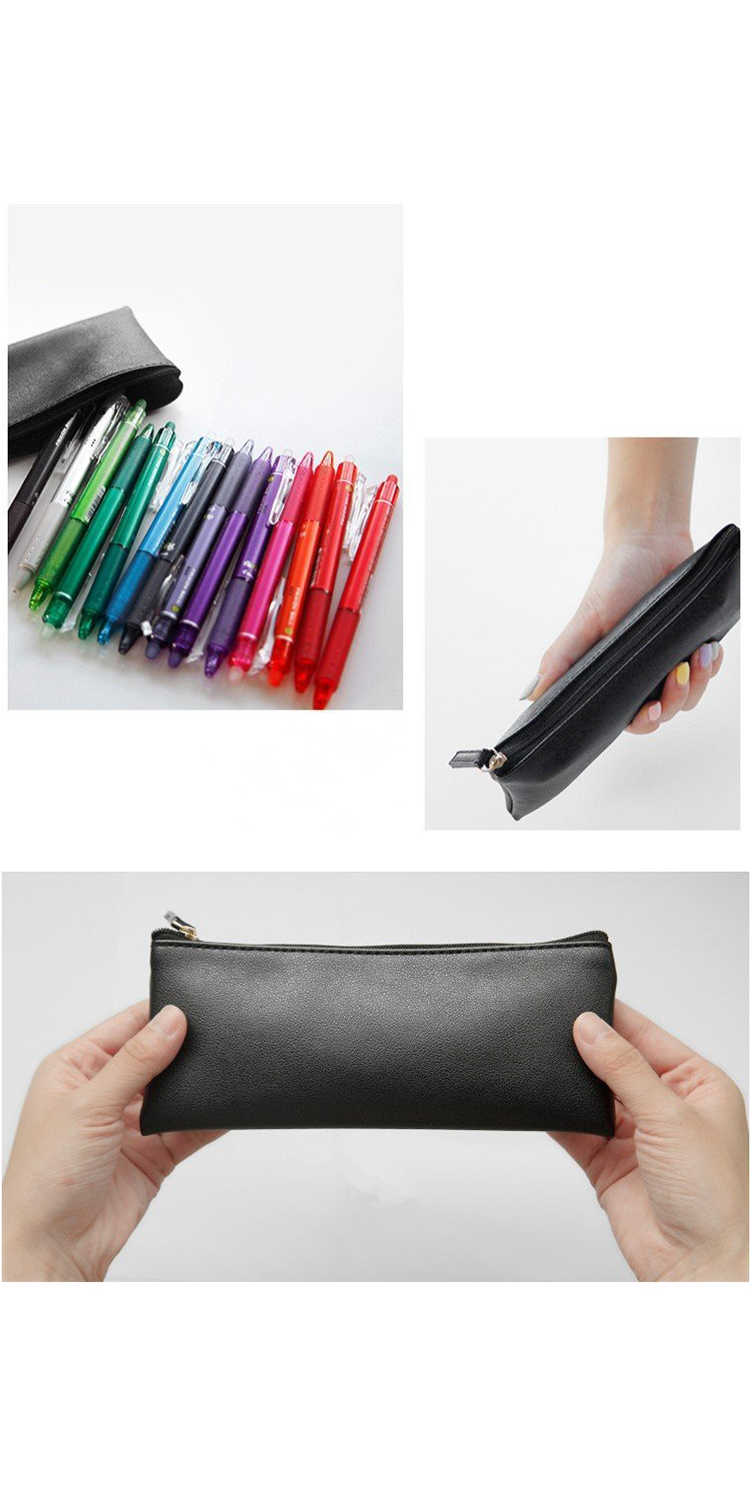 Portable Travel Makeup Brush Pouch Mini Pencil Bag with Zipper