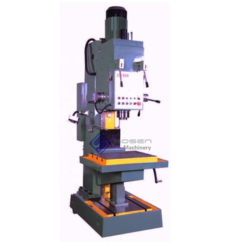 80mm drill diameter square column vertical drilling machine