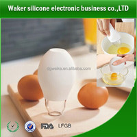 Silicone plastic Pluck Eggs Separator Yolk Extractor Divider
