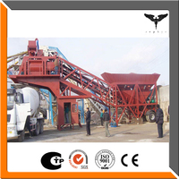 Hot sale and cheap price mobile concrete mixing plant for construction machinery