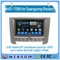 2016 new 2 din car dvd gps for ssangyong rexton for ssangyong rexton car radio gps 7 inch radio audio wifi 3g