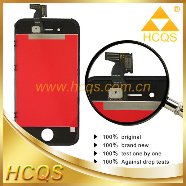 For iphone 4 copy for tianma lcd original, for iphone 4 lcd screen digitizer,repair parts replacement lcd for iphone 4