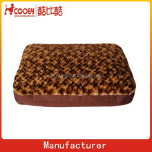 COO-2099 Leopard Print Pet Puppy Dog Cat Soft Bed Sleeping Bag Warm Cushion Pillow