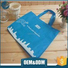 Promotional customize image high quality printed logo non woven tote shopping bag