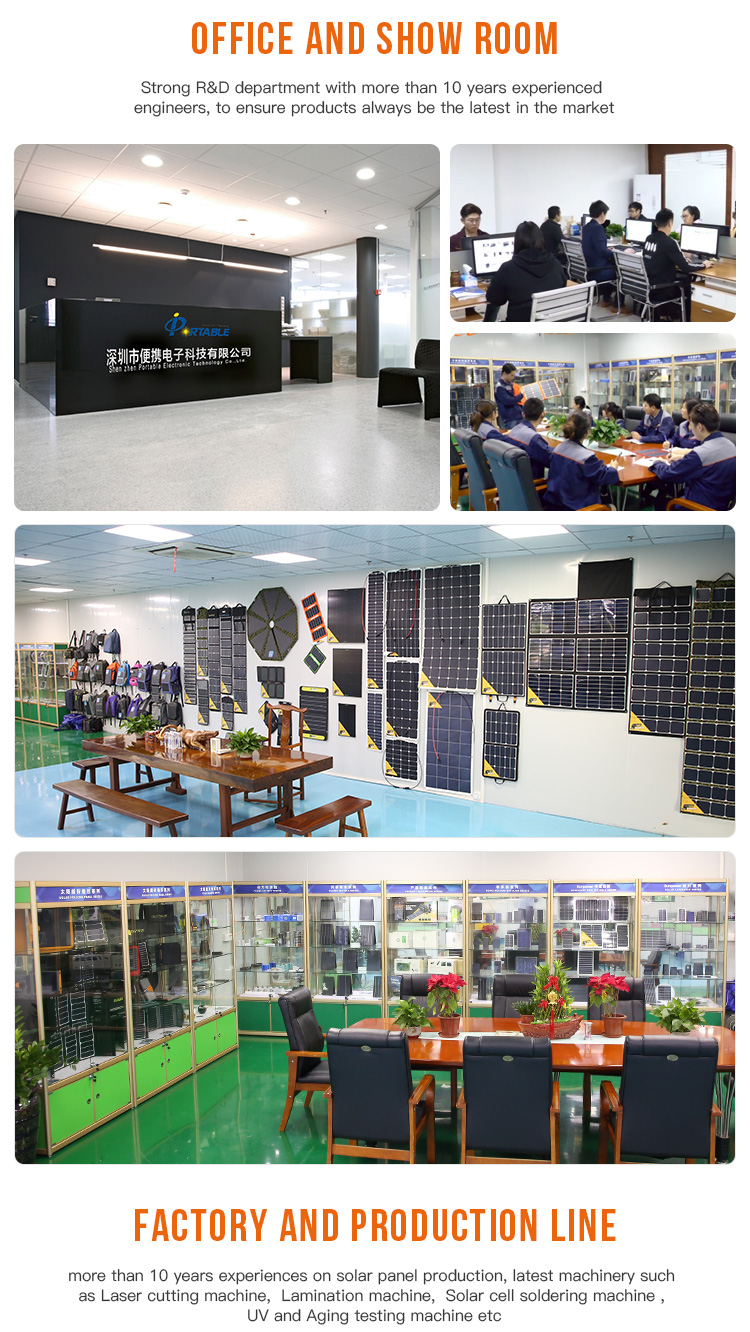 Factory sales Convenient 5V 7W solar panel with High Efficiency