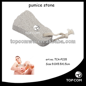 cheap price white foot shape pumice stone