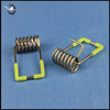 Custom downlight torsion spring clip