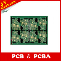 wholesale fr4 copper thickness 1 oz pcb fm transmitter double side pcb
