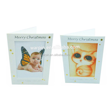 Factory Supplier custom design sound picture frames greeting cards