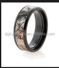 China factory RealTree Max 4 Camo Rings Camouflage Wedding Rings
