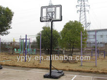 Portable height adjustable outdoor/indoor basketball stand