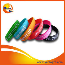 New design 1 inch silicone wristband for promotion