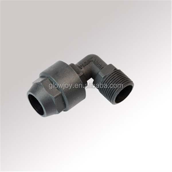 nylon waterproof pipe fitting elbow
