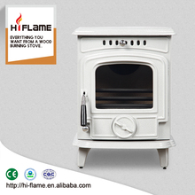 Different color freestanding cheap mini small enamel cast iron wood-burning stove