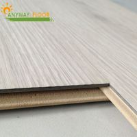 new product waterproof hard fiber and plastic flooring wood plastic