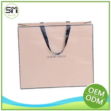Custom wholesale new products orange handbag with paper material