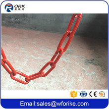 Weifang Orike Supply Cargo Tie Down 13MM Red Color Binding Chain