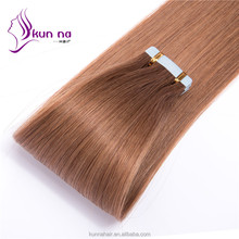 brazil human hair extension virgin hair PU tape hair extensions alibaba <strong>express</strong> china