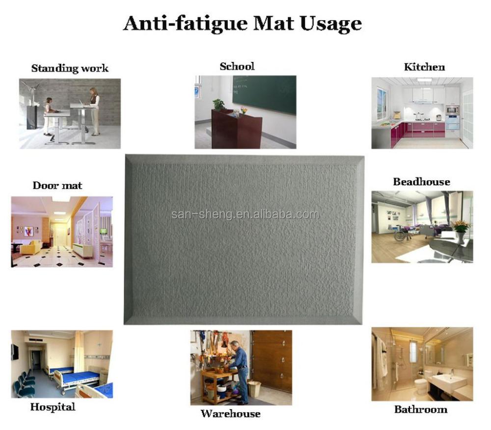 waterproof tpe kitchen floor mats factory direct export - buy anti