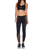 Ladies Sexy Fashion Yoga Mesh Black Sports Suits