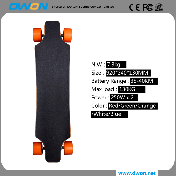 newest Fashion balancing four wheel hoverboard electric skateboard