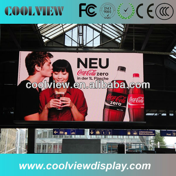 pixel pitch 12mm outdoor led display