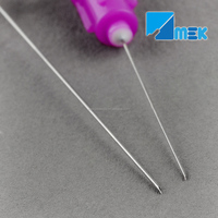 Disposable sterile dental needle for anesthetic
