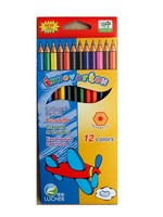 Firm Leads Pencil 7'' Plastic Color Pencil Hexagonal
