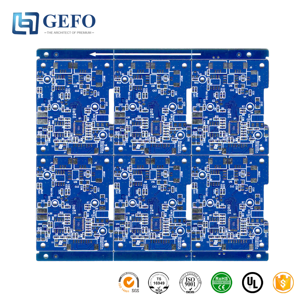 High Quality 94V0 UL RoHS ISO Certificate DVR PCB Board
