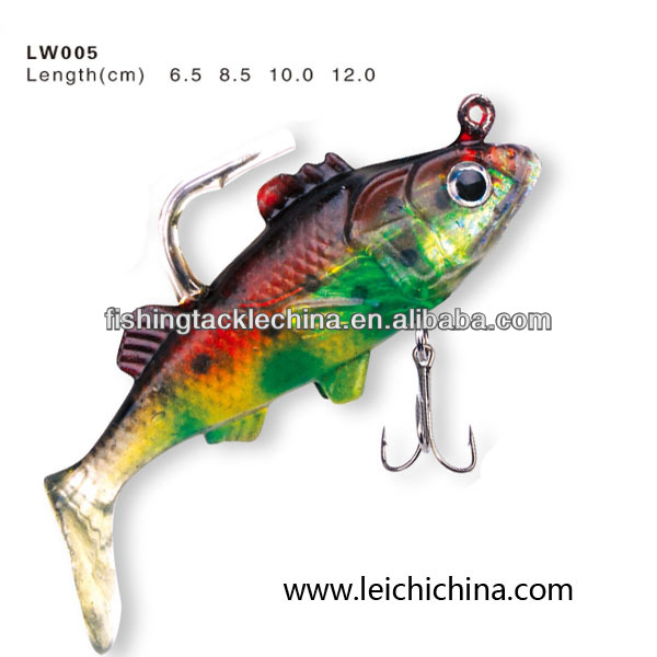 8.0cm soft plastic fishing lures grubs