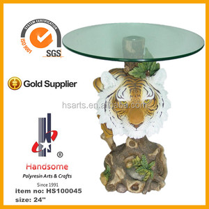 Resin Tiger Coffee Table, Resin Tiger Coffee Table Suppliers And  Manufacturers At Alibaba.com