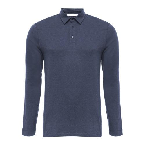 Long sleeve men polo t-shirt
