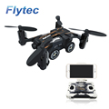 Flytec SBEGO 132W Mini Drones Toys 2.4G Pocket Flying Car Wifi FPV 480P HD Camera RC Drone Black