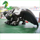 Black Inflatable Water Pool Cartoon Toys / Hongyi Custom Toothless Dragon / Inflatable Dragon With Sexy SPH