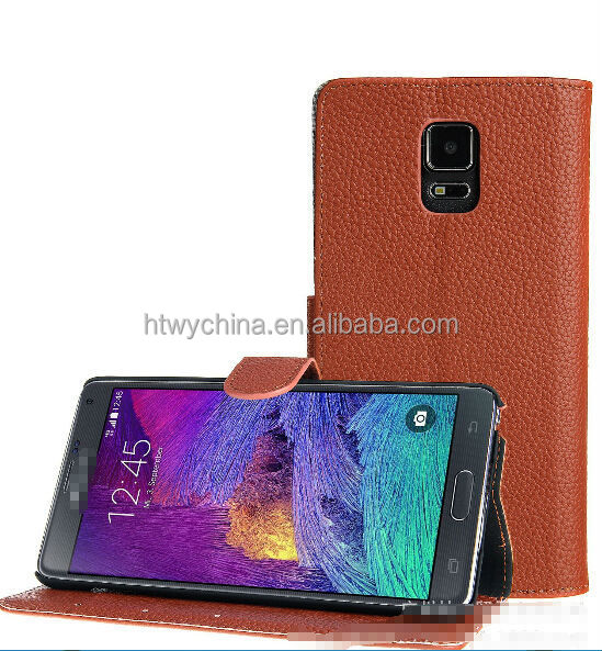 latest 2015 hot pouch leather case for samsung s6/Classic pouch mobile phone leather case for galaxy s6