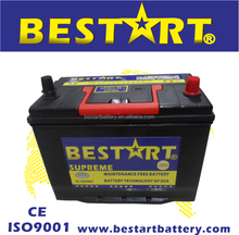 12V 100Ah automotive battery electric vehicle car battery Maintenance free 115D33L