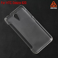 For HTC Desire 620 new product clear flip cover mobile phone leather case wholesale best price supplier