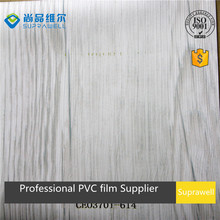wood grain PVC Rigid film for cabinet board vacuum press forming