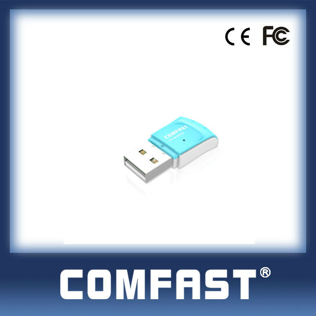 802.11g WLAN USB Adapter 2T2R 300M Wireless USB Network Card High power NANO Card COMFAST CF-WU825N
